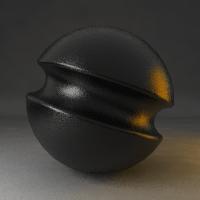 異方性 黒 プラスチック