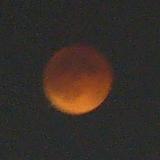 【写真: 皆既月食 2007-08-28 北海道 19:57】
