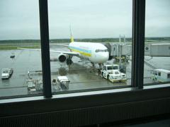 【写真: CASPAR003 が乗った航空機】