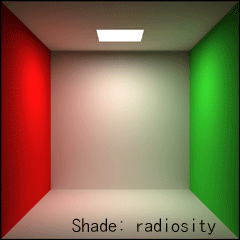 【Shade: radiosity】