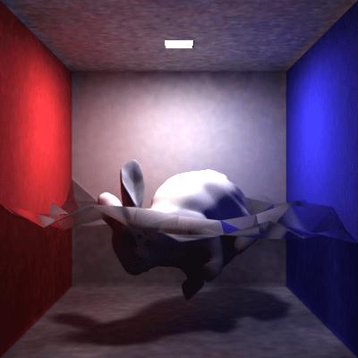 【レンダリングサンプル: Water Bunny Box】
