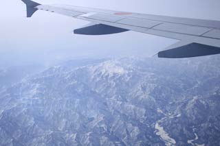 【写真: たぶん白山 ANA402便より撮影】