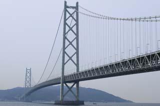 【写真: 明石海峡大橋】