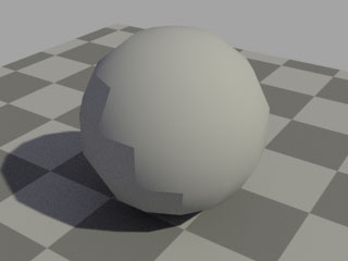 【SS: レンダリングした球】
