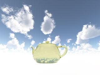 【画像: Teapotと空】
