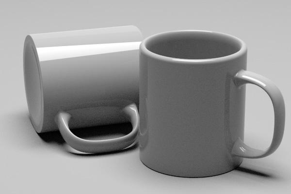 図 マグカップ