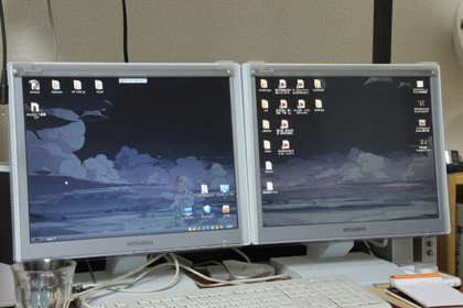 【図 デスクトップ画面】