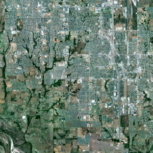 図 アメリカ合衆国オクラホマ州ムーア